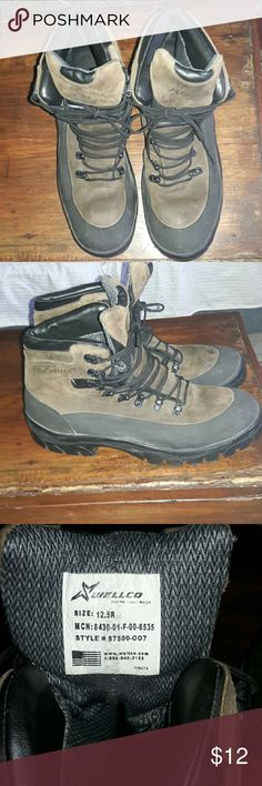 Boots (Men's hiking boots) These  are  a pair of men's hiking boots in very good condition Swellco Shoes Boots