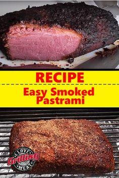 Easy Smoked Pastrami Recipe