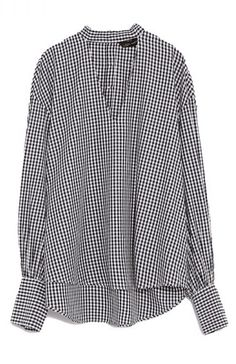 Looking for a chic top to keep on rotation forever? Check out the Gingham Top by Zara.