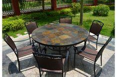 Balcon Table d/'appoint terassentisch Table de Jardin Table Pliante Mobilier de jardin bois