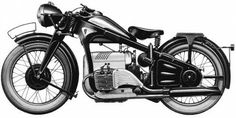 Zündapp Motorcycle