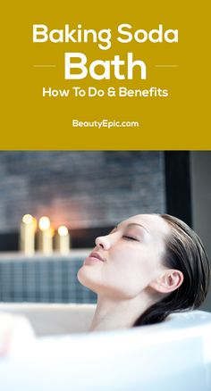 Baking Soda Bath: Benifits and How to Do? Baking Soda Bath – How To Do & Benefits Baking Soda For Skin, Baking Soda For Dandruff, Baking Soda Bath, Baking Soda Vinegar, Baking Soda Shampoo, Baking Soda Uses, Cider Vinegar, Skin Care Remedies, Natural Remedies