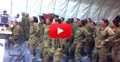 Prescription:  Inspiration.  Overseas Flash Mobs Cannot Be Beat! | The Veterans Site Blog