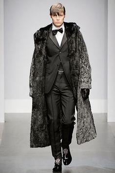 Gianfranco Ferré Fall 2010 Menswear