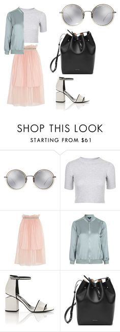"""Love style"" by phamthuquynh on Polyvore featuring Linda Farrow, Topshop, Mother of Pearl, Alexander Wang and Mansur Gavriel"