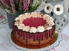 Kanelitytön kakkuparatiisi: Mustaherukka-suklaahyydykekakku browniepohjalla Cake, Garden, Desserts, Food, Tailgate Desserts, Garten, Deserts, Kuchen, Lawn And Garden