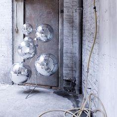 Tom Dixon Mirror Ball #mirrorball #tomdixon http://www.tomdixon.net