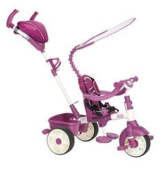 Kids' Pedal Cars - Little Tikes 4in1 Trike Ride On PinkPurple Sports Edition ** To view further for this item, visit the image link.