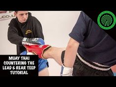 Muay Thai Countering the Lead and Rear Teep Tutorial - YouTube