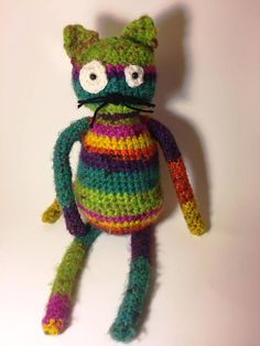 Jérémie le chat Peluche au crochet Crochet, Etsy, Plushies, Handmade, Wool, Cat Breeds, Ganchillo, Crocheting, Knits