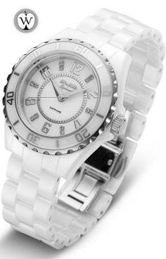 Reloj Duward señora 3 agujas brazalete cerámica 3 ATM