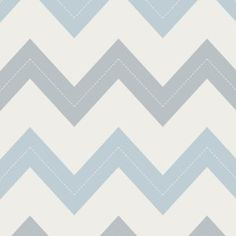 Stitched Wallpaper - Baby Blues Image