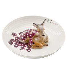 {animal - fawn - bowl} by Hella Jongerius - so unique! love.