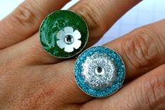 """Summer Social"" Guest Project -- Make Embellished Resin Rings!!"