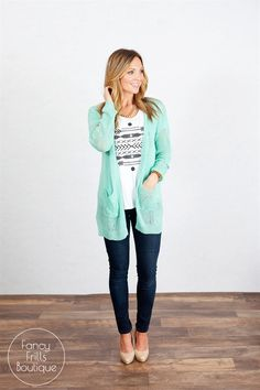 Spring Lux Pocket Cardigan!