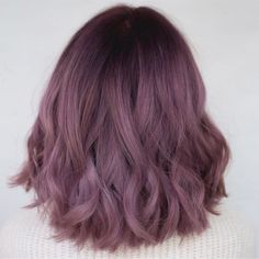 99 Modern Short Ombre Hair Color Ideas Have you ever thought of naturally growing long hair overnight? Might be this is something almost impossible to you, but […] Hair Color Purple, Lilac Color, Cool Hair Color, Ombre Colour, Cute Hair Colors, Plum Hair Colors, Trendy Hair Colour, Dark Colors, Color For Short Hair