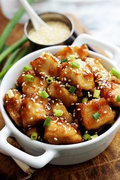 A quick and saucy sesame chicken dish you can whip up in a hurry. The flavor is excellent and the sauce is simple, this sesame chicken can't be beat!