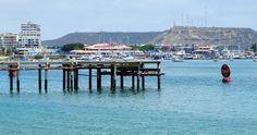 Muelle. Playas Salinas Ecuador | Viajeros http://www.ecuadorgalapagostravels.ec/modulos/salinas.php