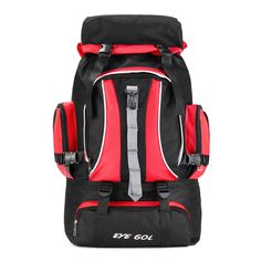 6617a81662 60L Outdoor Camping Hiking Backpack Sports Travel Waterproof Rucksack Large  Bag Sale - Banggood.com