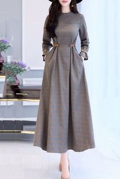 New Hijab Fashion : Интересые идеи Muslim Fashion, Modest Fashion, Hijab Fashion, Fashion Dresses, Modest Outfits, Dress Outfits, Stylish Dresses, Casual Dresses, Long Dresses