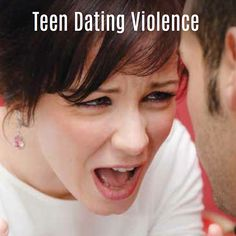 A brochure about teen dating violence.