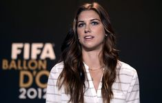 Alex Morgan at FIFA Ballon d'Or Gala 2012 press conference in Zurich - My Face Hunter Ballon D'or, Female Soccer Players, Good Soccer Players, Alex Morgan Body, Happy Birthday Gorgeous, World Cup Champions, Fifa Women's World Cup, Football Is Life, Flawless Beauty