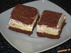 Czech Recipes, Ethnic Recipes, Soul Cake, Sweet And Salty, Culinary Arts, Nutella, Sweet Recipes, Deserts, Food And Drink