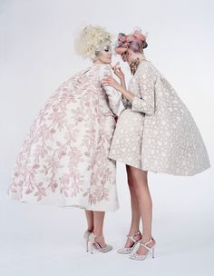 Giambattista Valli Haute Couture, Spring 2013 photographed by Tim Walker for W Magazine, April 2013