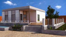 Los diseños más modernos adaptados a una construcción en madera, más ecológica y económica, y saludable para la habitabilidad. Garage Doors, Mansions, House Styles, Outdoor Decor, Home Decor, Interior Walls, Timber House, Modern Home Plans, Modular Homes