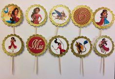 24 Elena de Avalor Cupcake Toppers toppers cupcake de