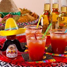 Hold on to your sombrero! Mix up micheladas, a fiesta version of Bloody Marys with Mexican beer and tomato juice.