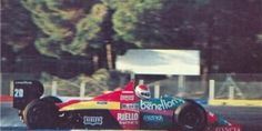 Roberto Ravaglia, Benetton-Ford B187, 1987