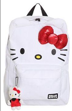 Hello Kitty backpack #hellokitty