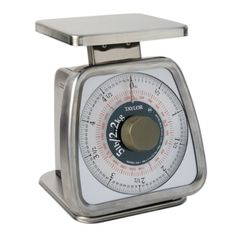 Taylor Food Service 5 Pound Analog Portion Control Scale, Stainless Steel  Taylor,http