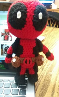 Please give me credit if you will be selling any Deadpools from my pattern, thanks!