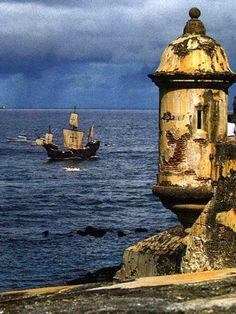 La Garita ~ El Morro Fort ~ Puerto Rico