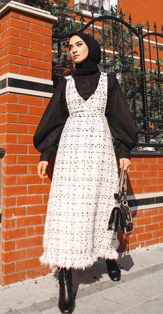 Modest Fashion Hijab, Street Hijab Fashion, Muslim Fashion, Fashion Outfits, Hijab Fashion Inspiration, Niqab, Mode Style, Classy Outfits, Dresses