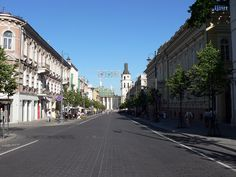 Lithuania Vilnius Gediminas Avenue - Prospekt Giedymina w Wilnie – Wikipedia, wolna encyklopedia