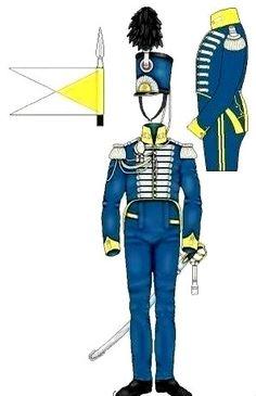 Naples Royal Guard Lanciers 1814
