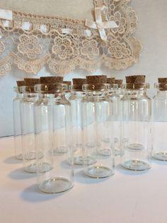 """2 25"""" Cork Glass Bottles for Baptism Communion Wedding Favors 12 PK   eBay"""