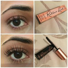 Benefit Roller Lash Mascara before and after!
