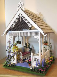 Susan's Miniatures, would make a magical farie hang out!