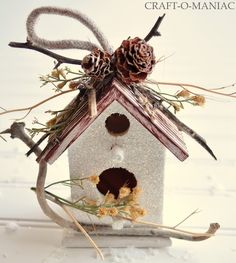 Resultado de imagen de christmas birdhouses