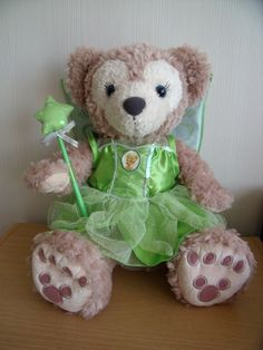 Shellie May en fée Clochette (costume Build a bear)
