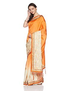 Aalia Art Silk Saree With Blouse Piece