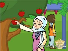 Children's Arabic Lesson: Food & Nutrition الدرس العربية مجانا - YouTube