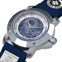 """This """"Doctor Who"""" TARDIS Watch is what I am going to blow all of my fun money on at Chicago TARDIS."""