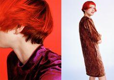 ZARA TRF #VelvetFeel #AW16 editorials #zaratrf #ZaraEditorials featuring Katie Moore Look-006