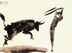 Corrida (1959) by Pablo Picasso (litograph)