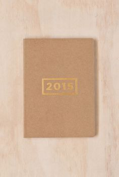 Mi Goals - 2015 Diary Planner - Weekly - A5 (15x21cm) - Soft Cover